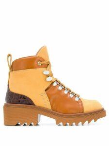 Chloé 50mm hiking boots - Brown
