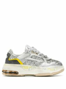 Premiata Drake glitter sneakers - Metallic