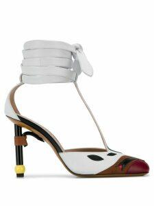 LANVIN Parrot Salomé pumps - White