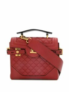 Balmain B-Buzz 23 quilted tote bag - Red