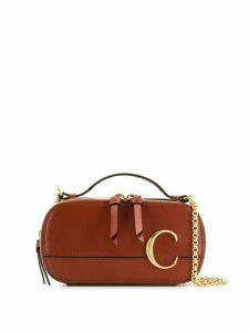 Chloé C crossbody bag - Brown