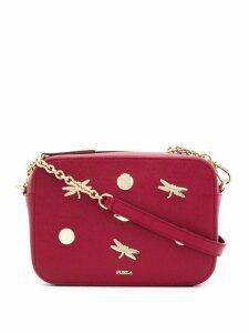 Furla Brava Zaffiro crossbody bag - Red