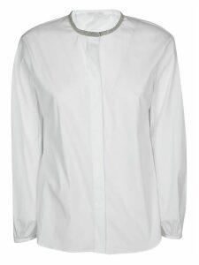 Fabiana Filippi Ball Chain Neck Shirt