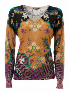 Etro Printed Sweater