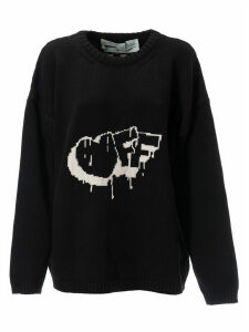 Off-White Arrow Patterned Sweatshirt