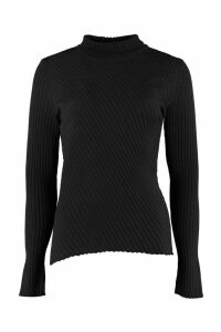 Pinko Precolombiano Ribbed Turtleneck Sweater