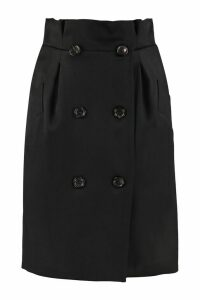 Max Mara Wool Wrap Skirt