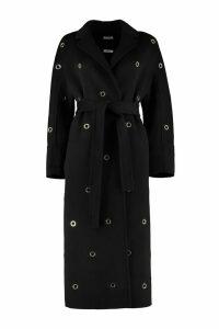 Parosh Belted Wool Cloth Coat