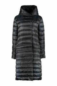 Max Mara The Cube Novelu Long Hooded Down Jacket