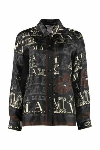 Max Mara Colomba Printed Twill Shirt