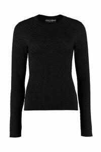 Dolce & Gabbana Open-work Pullover