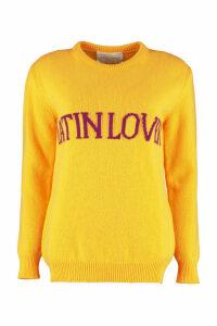 Alberta Ferretti latin Lover Intarsia Sweater