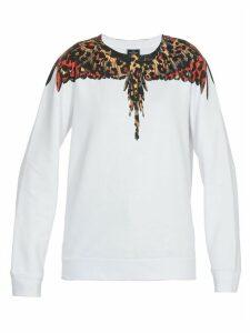 Marcelo Burlon Leopard Wings Sweatshirt
