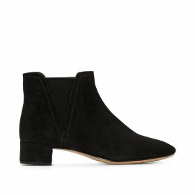 Orabella Ruby Suede Ankle Boots