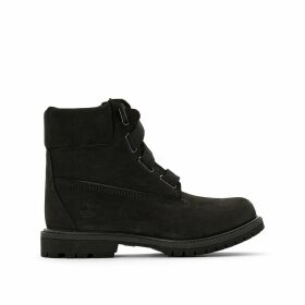 Leather 6 In Premium Convenience Boots