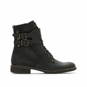 Smile Leather Ankle Boots