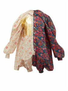 Matty Bovan - Liberty Floral-print Poplin Shirt - Womens - Multi