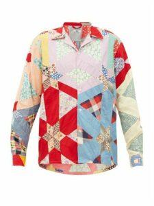Bode - Havana Patchwork Cotton Shirt - Womens - Multi