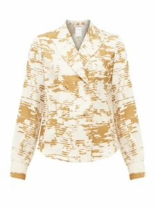 Max Mara - Eris Blouse - Womens - White Gold