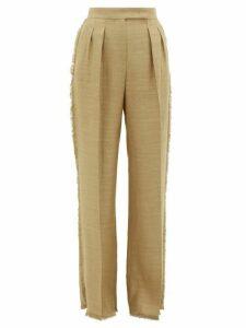 Max Mara - Riviera Trousers - Womens - Camel