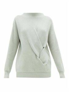 Max Mara - Varace Sweater - Womens - Light Grey