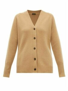 Joseph - Buttoned Cashmere Cardigan - Womens - Tan
