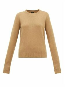 Joseph - Ribbed Edge Cashmere Sweater - Womens - Camel
