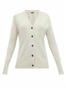 Joseph - Raglan-sleeve Cashmere Cardigan - Womens - Light Grey