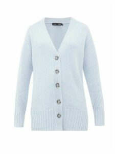 Proenza Schouler - V-neck Cashmere Cardigan - Womens - Mid Blue