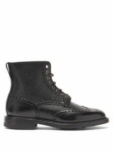 Crockett & Jones - Grace 2 Leather Ankle Boots - Womens - Black