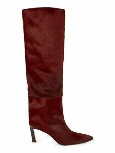 Emiline Calf Hair Knee Boots