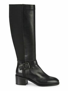Jessa Leather Knee-High Boots