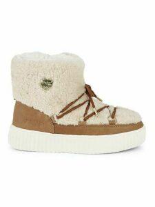 Ewa Leather & Shearling Boots