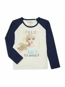 Little Girl's Frozen 2 Cotton Tee