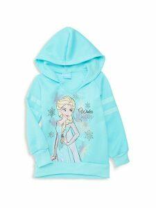 Little Girl's Frozen Graphic Hoodie