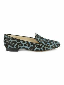 Jordy Leopard Calf Hair Loafers