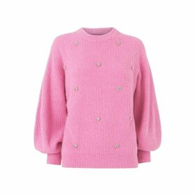 Kitri Odell Pink Jewel Knit Jumper