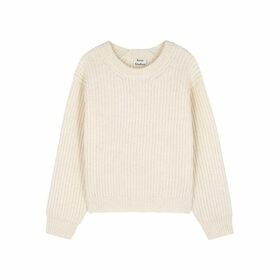 Acne Studios Cream Wool Jumper