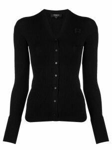 Rochas Maglia Cardigan Sweater - Black
