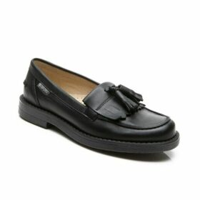 Step2wo Scarlett Black Tassel Loafers
