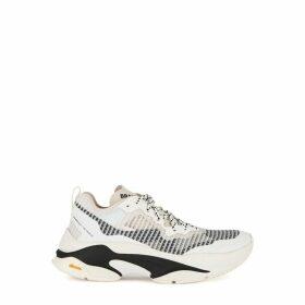 Brandblack Specter White Mesh Sneakers