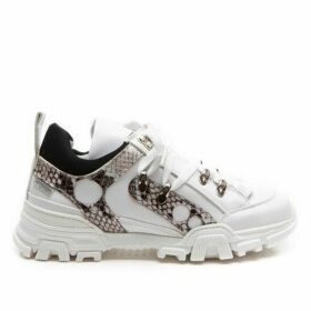 Step2wo Becky - Snakeskin Trainer