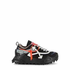 Off-White Odsy 1000 Black Panelled Sneakers