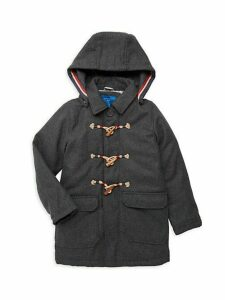 Boy's Long-Sleeve Hooded Jacket