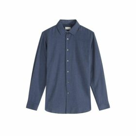 Jigsaw Anthony Cotton And Wool Shirt