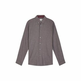 Jigsaw Brett Cotton And Wool Shirt