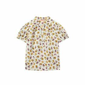 Jigsaw Floral Print Blouse