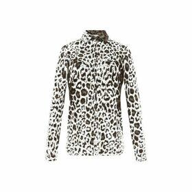 Gerard Darel Shirt-style Eddy T-shirt In Leopard Jersey