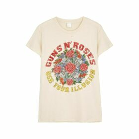MadeWorn Guns 'N' Roses Printed Cotton T-shirt