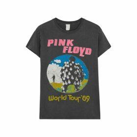 MadeWorn Pink Floyd World Tour Printed Cotton T-shirt